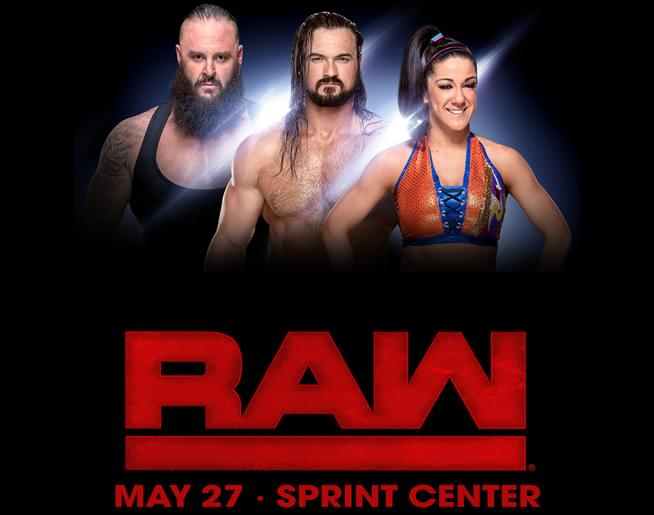 WWE RAW – Sprint Center May 29