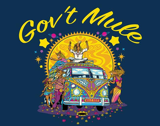 101 THE FOX WELCOMES GOV'T MULE