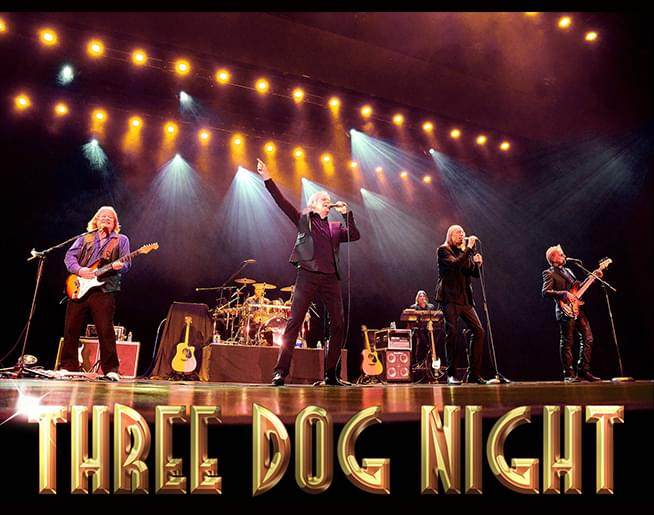 Three Dog Night August 15th at Uptown Theater