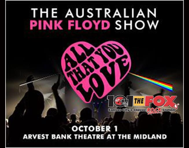 101 THE FOX PRESENTS THE AUSTRALIAN PINK FLOYD at THE MIDLAND OCT 1st