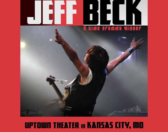 Jeff Beck LIVE at The Uptown – Sept. 17