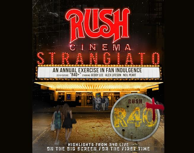 RUSH – Cinema Strangiato,  in theaters August 21st only