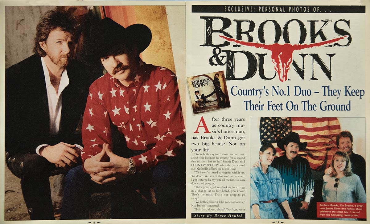 Brooks & Dunn: Country Music's No. 1 Duo Keeps Their Feet on the Ground