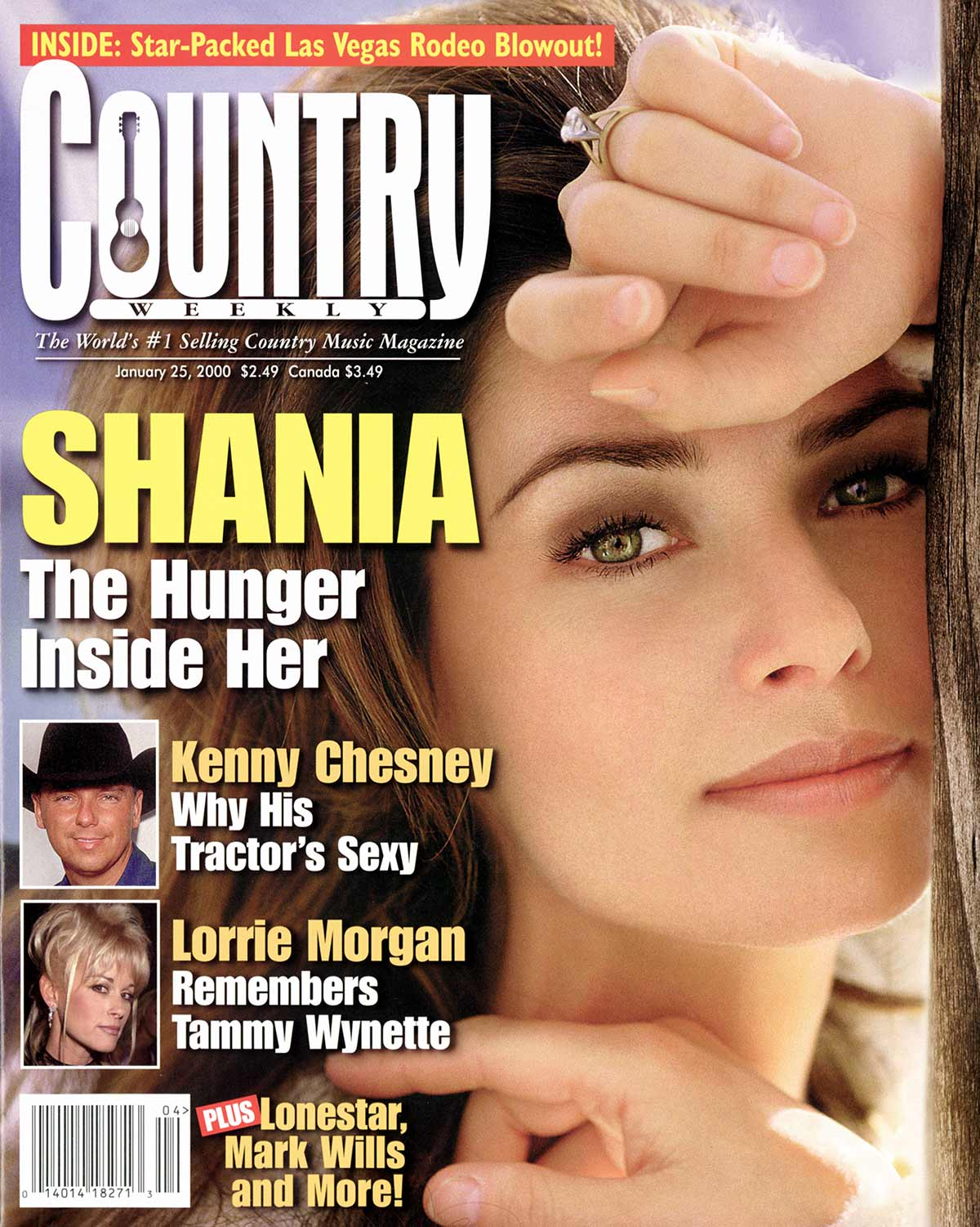 Country Weekly 2000-01-25 Shania Twain: The Hunger Inside Her