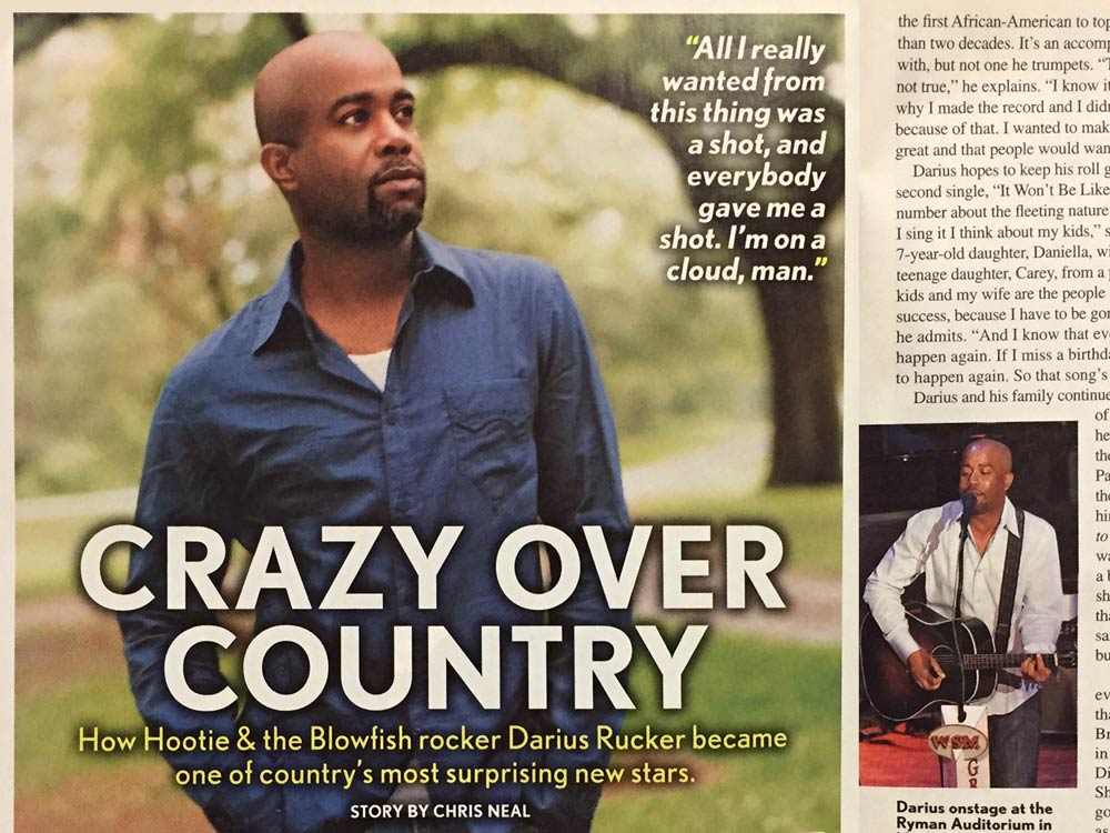 How Hootie & The Blowfish Rocker Darius Rucker Became One of Country Music's Most Surprising New Stars
