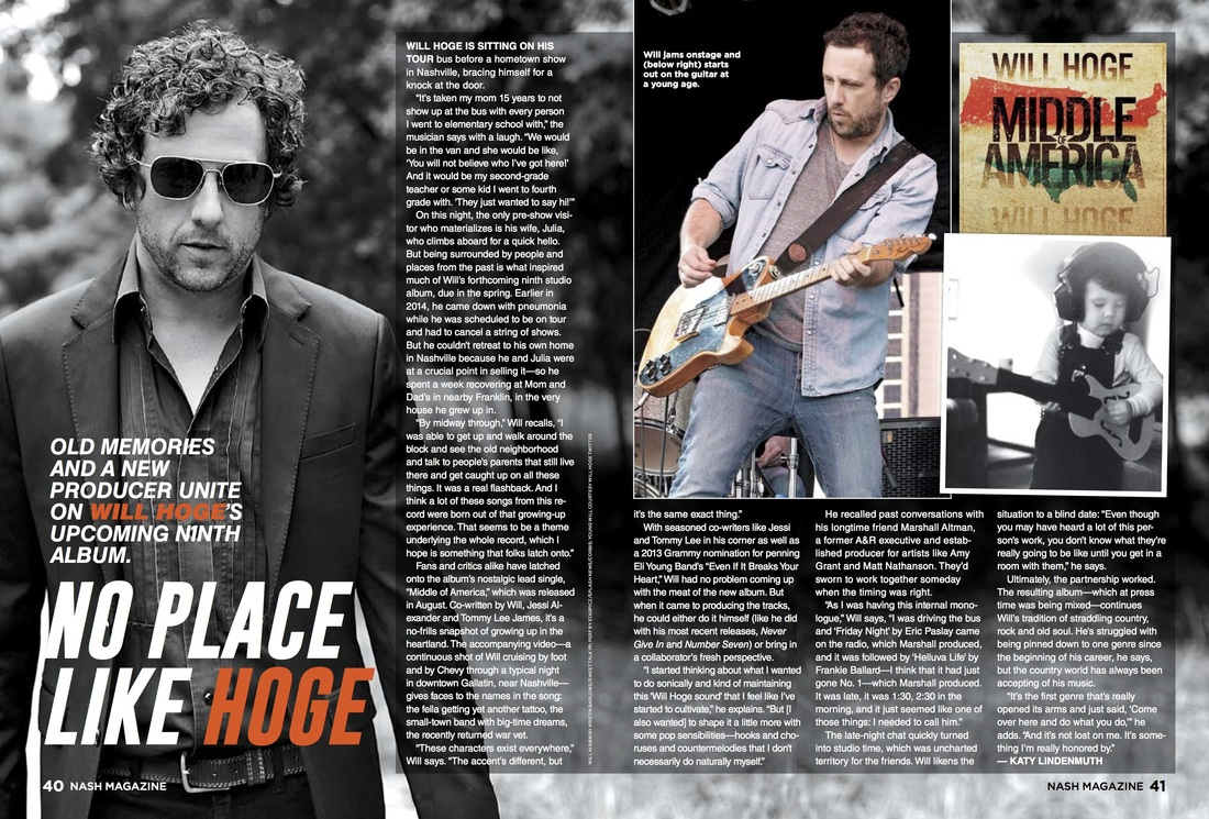 "Old Memories and a New Producer Unite on Will Hoge's Upcoming Ninth Album, ""Middle of America"""