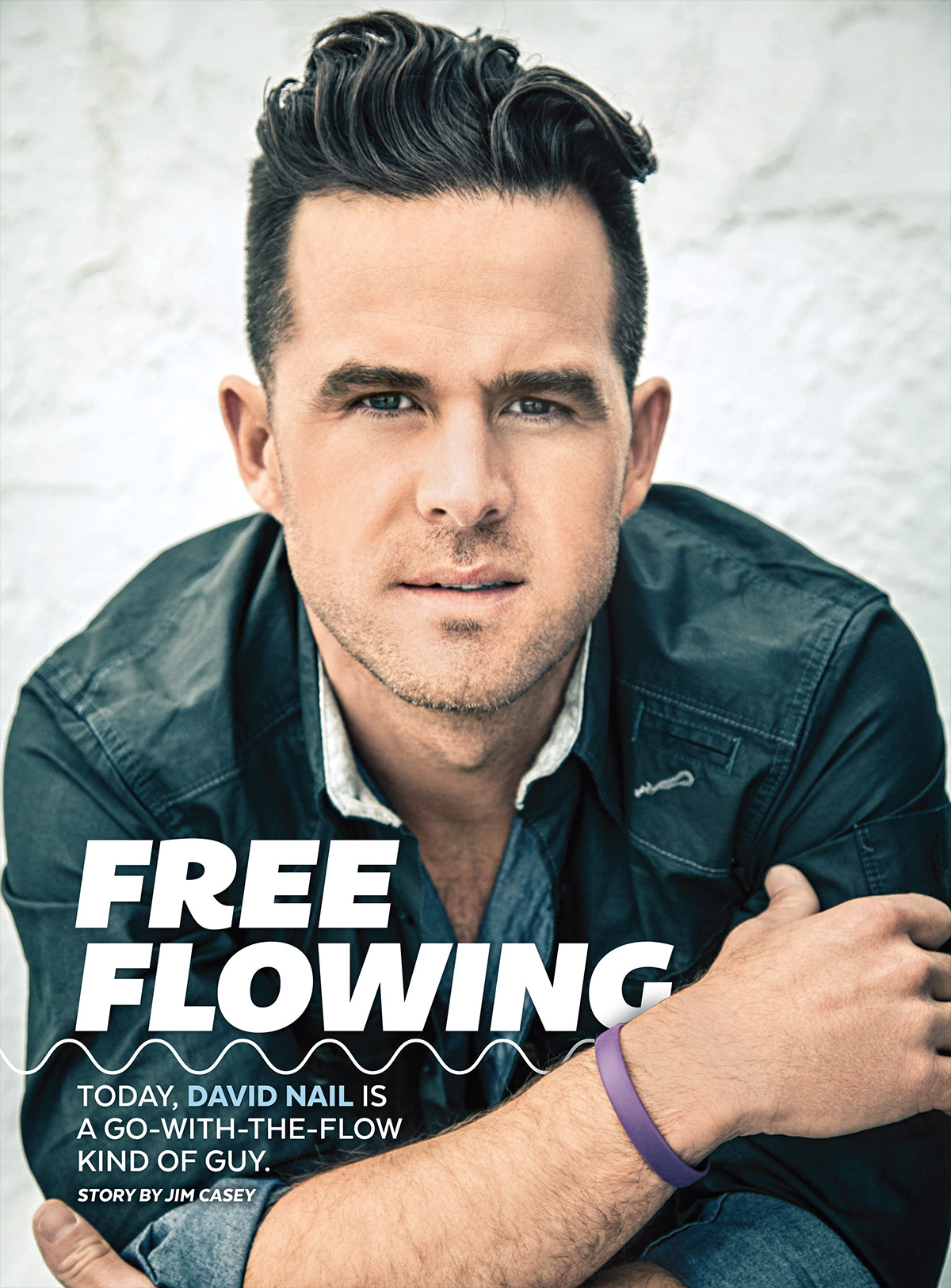 David Nail is a Go-With-the-Flow Kind of Guy