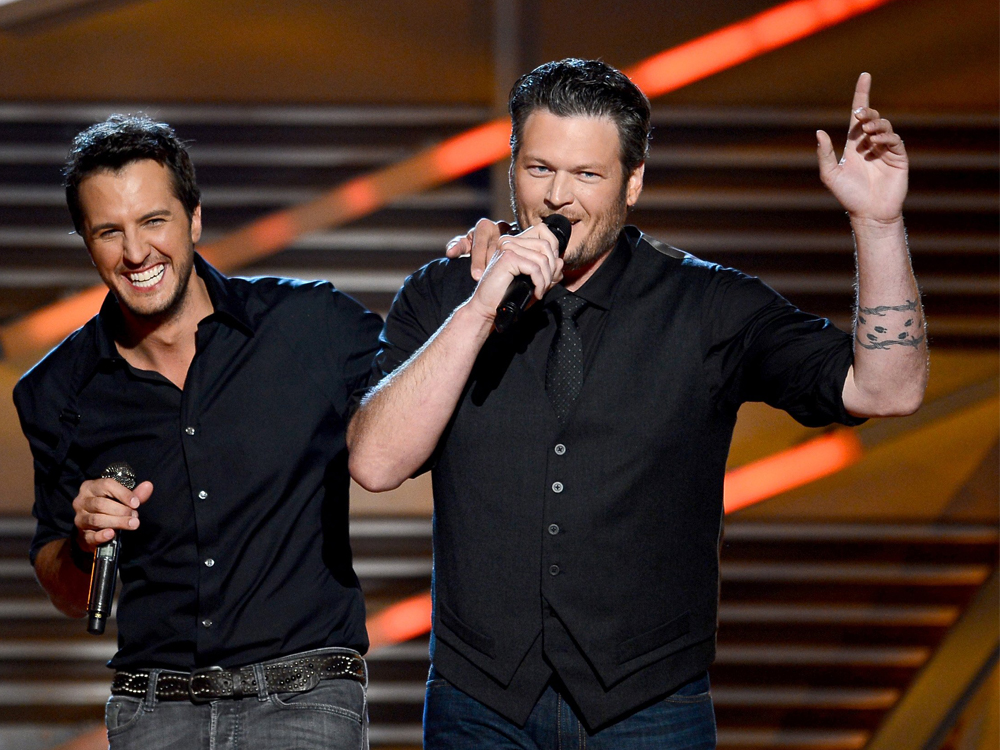 "Luke Bryan to Serve as Mentor for Blake Shelton's Team on ""The Voice"""