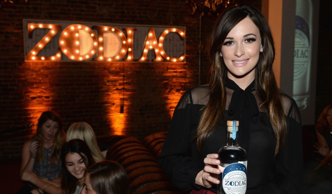 Print Kacey Musgraves Welcomes Zodiac Vodka to Tennessee