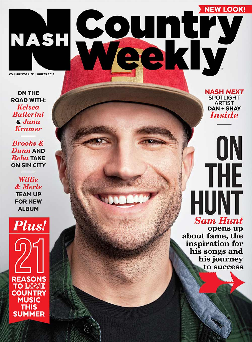 Country Weekly 2015-06-15 Sam Hunt On the Hunt for Success