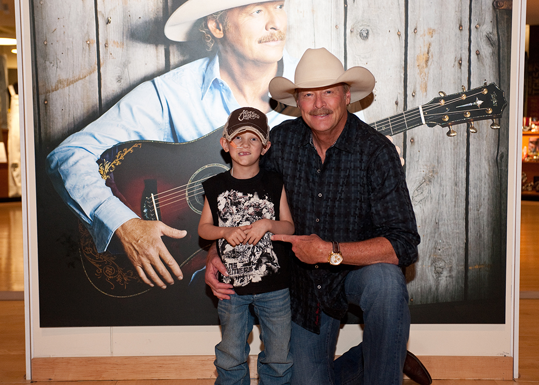 Alan Jackson Remembers His Little Buddy Joshua John Jdub Waldrop