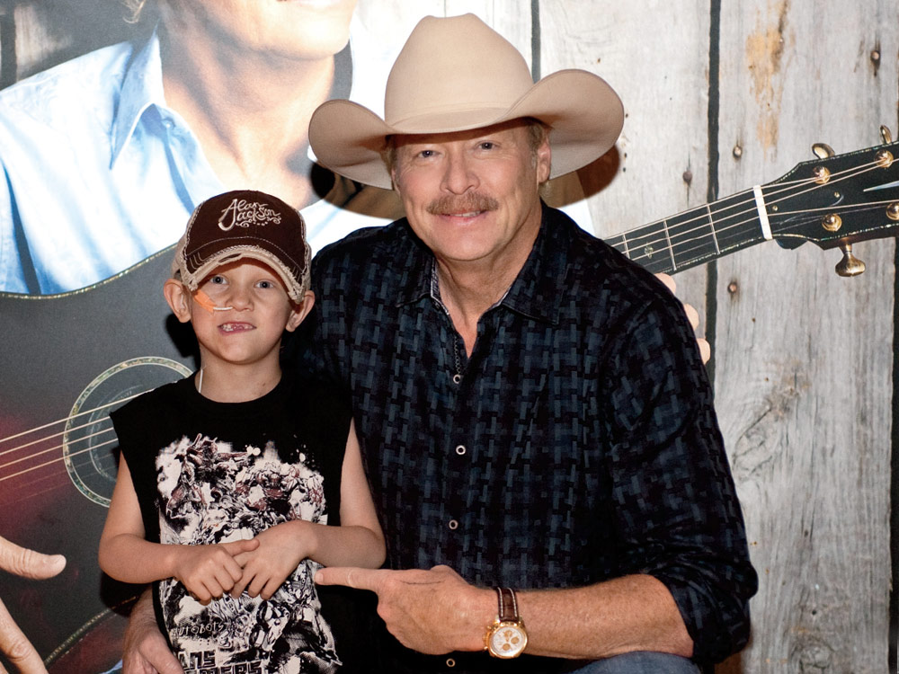 "Alan Jackson Makes Fan Joshua ""J-Dub"" John Waldrop's Dream a Reality"