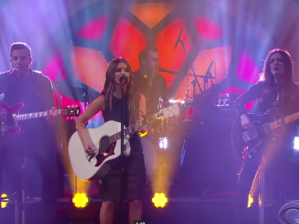 "Watch Maren Morris Get a Grammy Tune-Up by Performing ""My Church"" on ""The Late Show"""