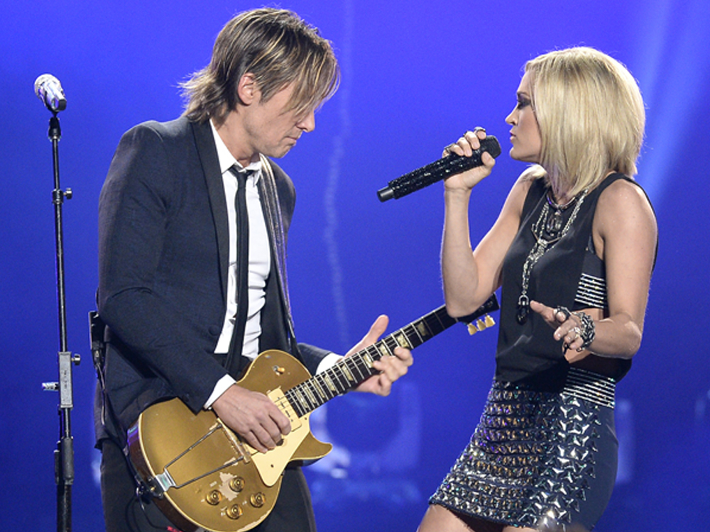 "Keith Urban and Carrie Underwood Team Up to Sing ""The Fighter"" at the Grammy Awards [+Listen to Keith's New Single]"
