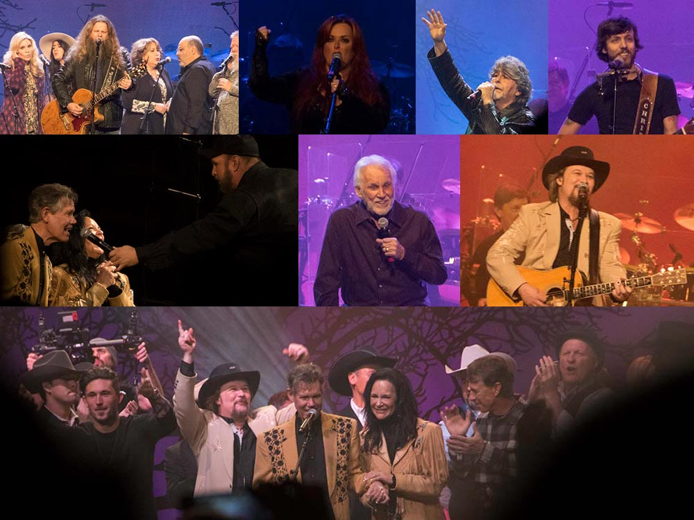 Check Out 40 Performance Pics From the Randy Travis Tribute Concert, Including Garth Brooks, Travis Tritt, Alabama, Wynonna, Kenny Rogers & More