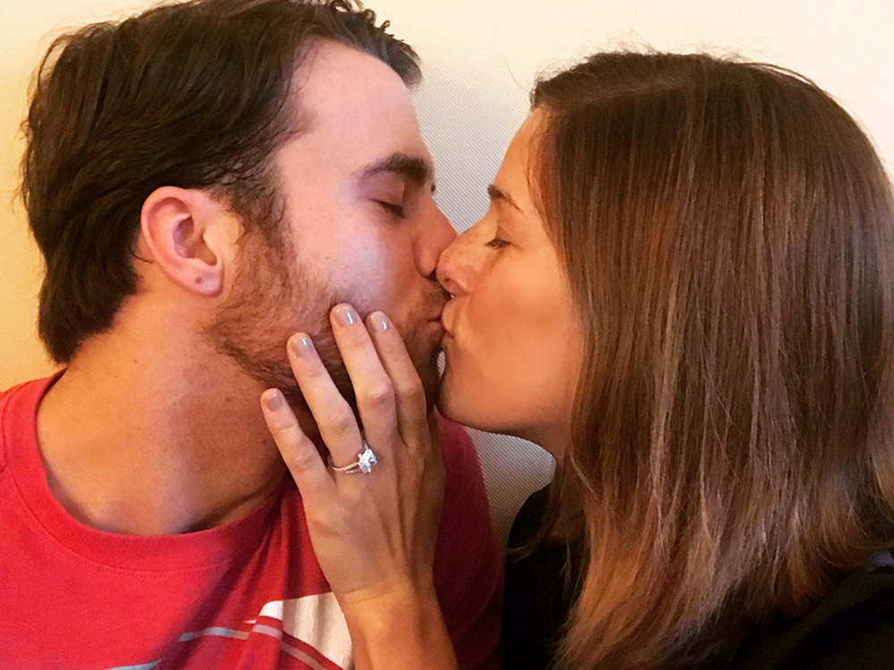 Cassadee Pope and boyfriend, Rian Dawson, Are Engaged