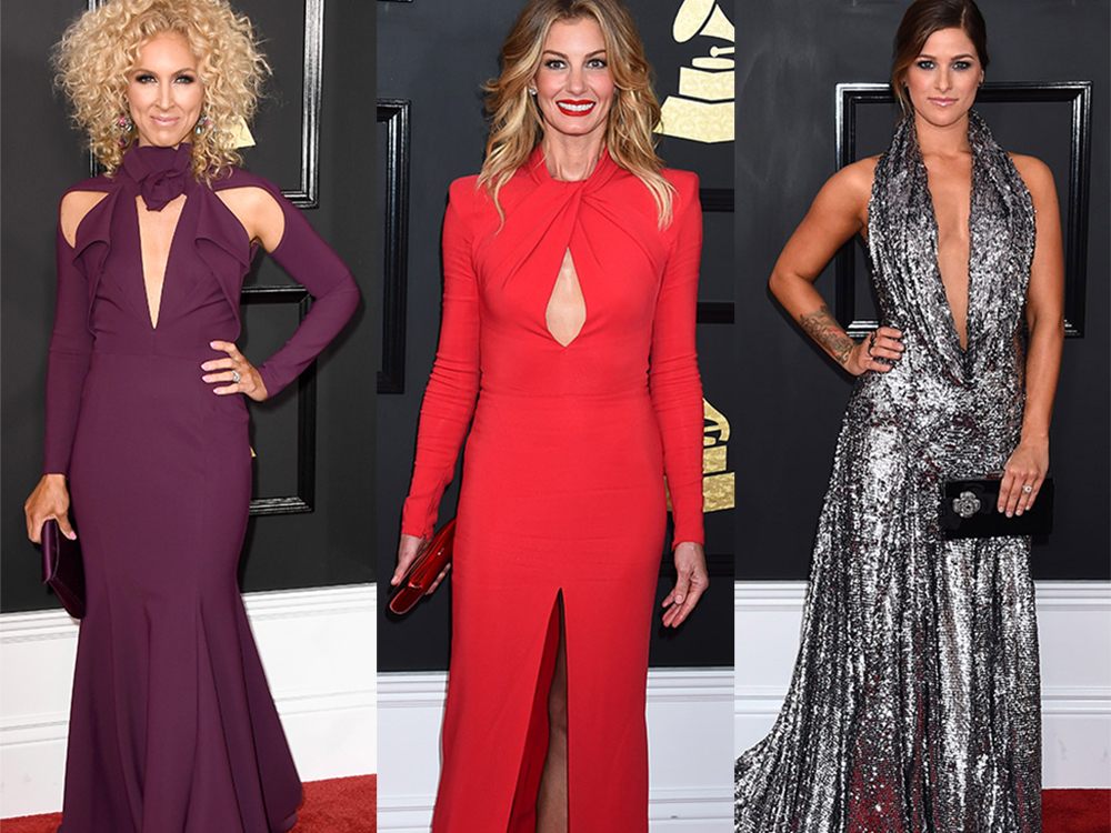 """Nash Country Daily's"" Top 5 Best Grammy Red Carpet Looks"