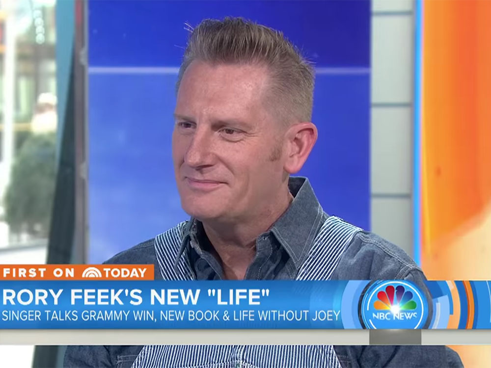 """Joey+Rory's Rory Feek talks Grammy Win, Losing His Wife and Raising Their 3-Year-Old Daughter, Indiana: """"We're Doing Well"""""""