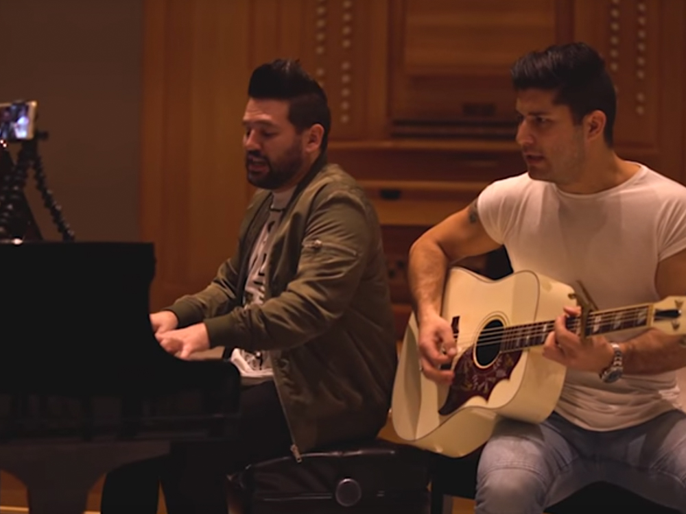 "Watch Dan + Shay Cover Sam Hunt's ""Body Like a Back Road"""