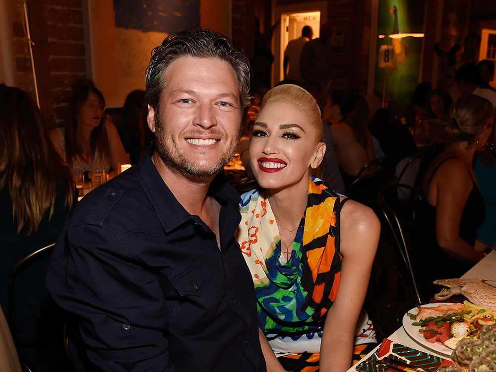 "Blake Shelton Named ""Greatest Guy Ever"" By Girlfriend Gwen Stefani"