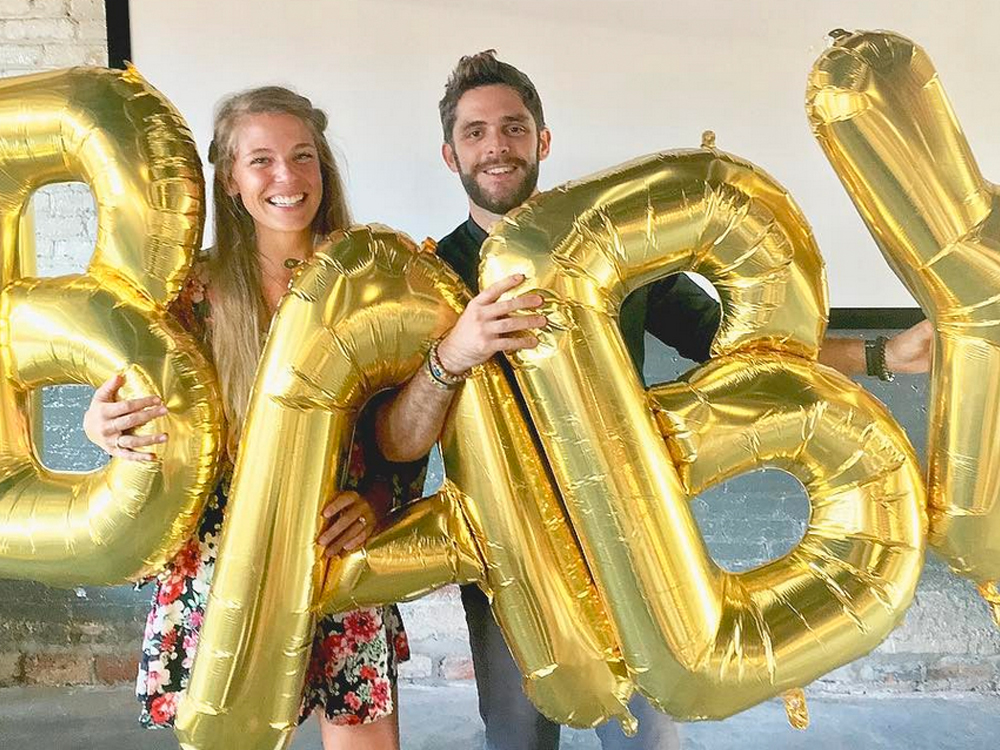 Thomas Rhett and Wife Lauren Are Expecting a Baby . . . and Adopting a Baby
