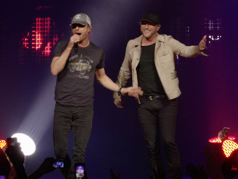 "Watch Cole Swindell's New ""Flatliner"" Video Featuring Dierks Bentley"