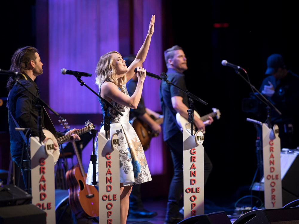 "Carrie Underwood Celebrates Her 100th Appearance on the ""Grand Ole Opry"""
