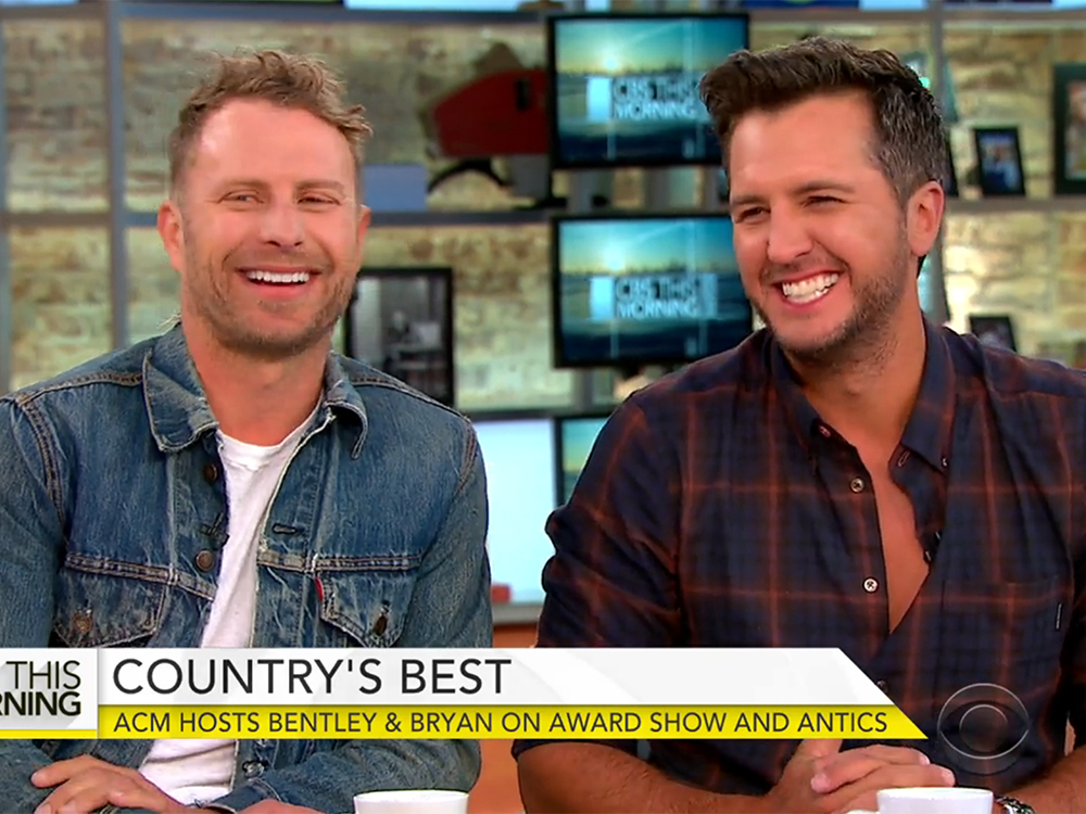 Luke Bryan and Dierks Bentley Preview ACM Awards and Talk Hosting Mishaps