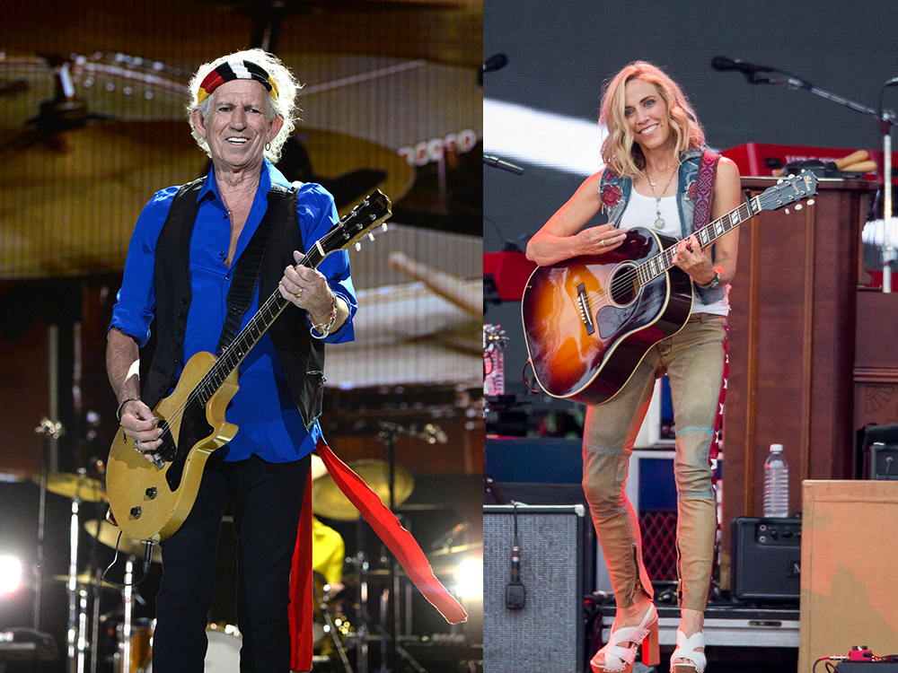 Rolling Stones' Keith Richards and Sheryl Crow Added to Merle Haggard Tribute Concert