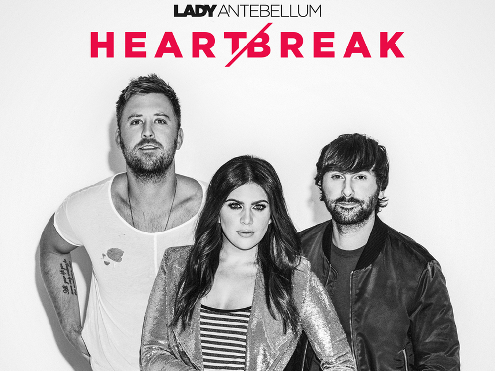 "Lady Antebellum Reveals Album Art, Track List and Songwriters for New Album, ""Heart Break"""