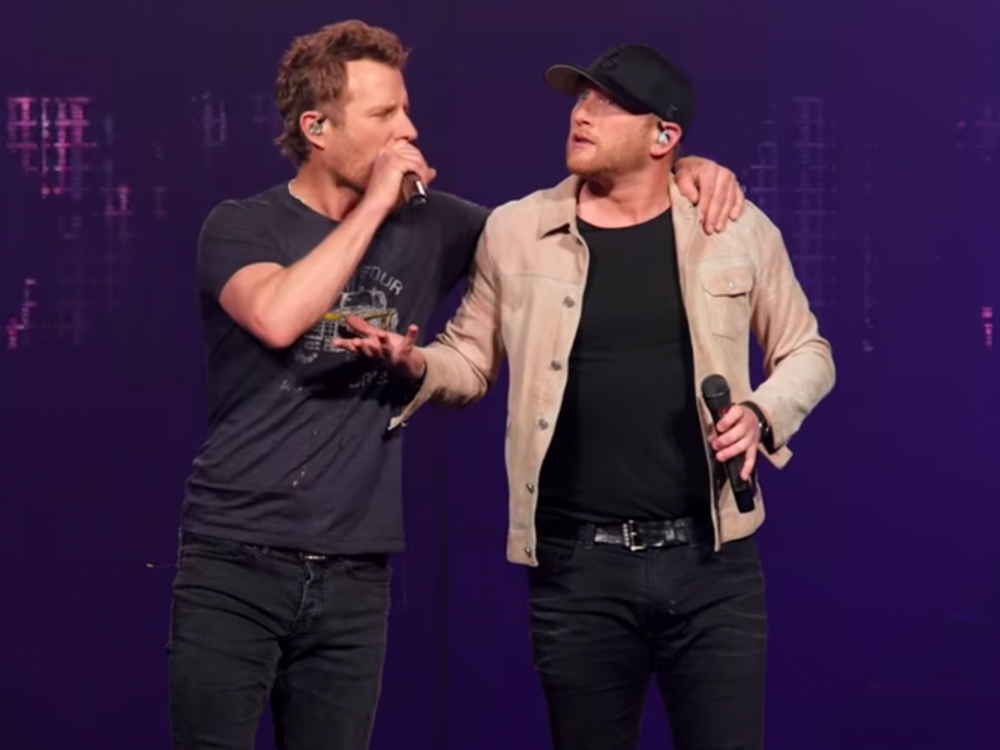 "Cole Swindell Has Been Waiting for Dierks Bentley to Record ""Flatliner"" for 4 Years: ""It Was a Running Joke Every Time We'd See Each Other"""