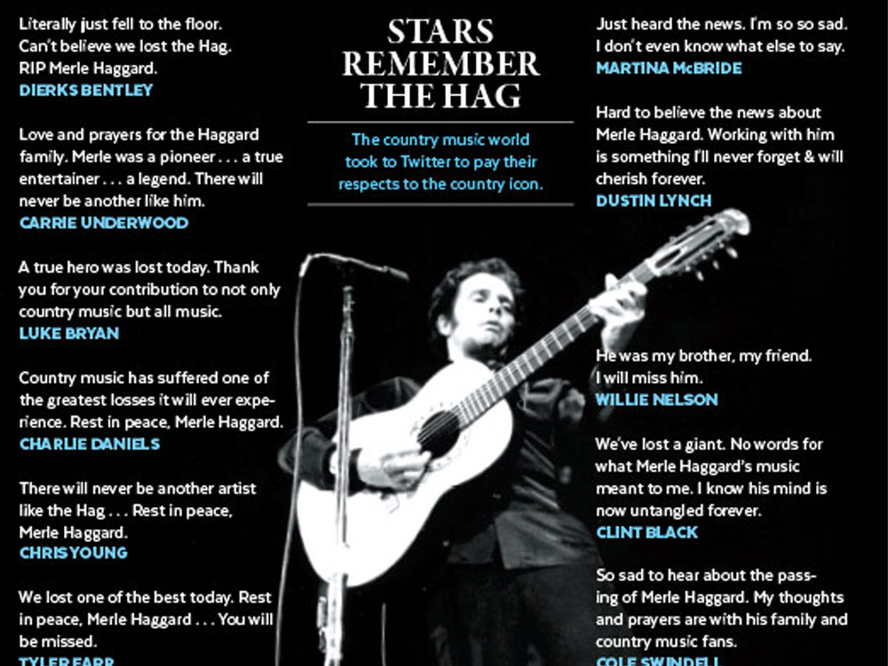Stars Remember Merle Haggard
