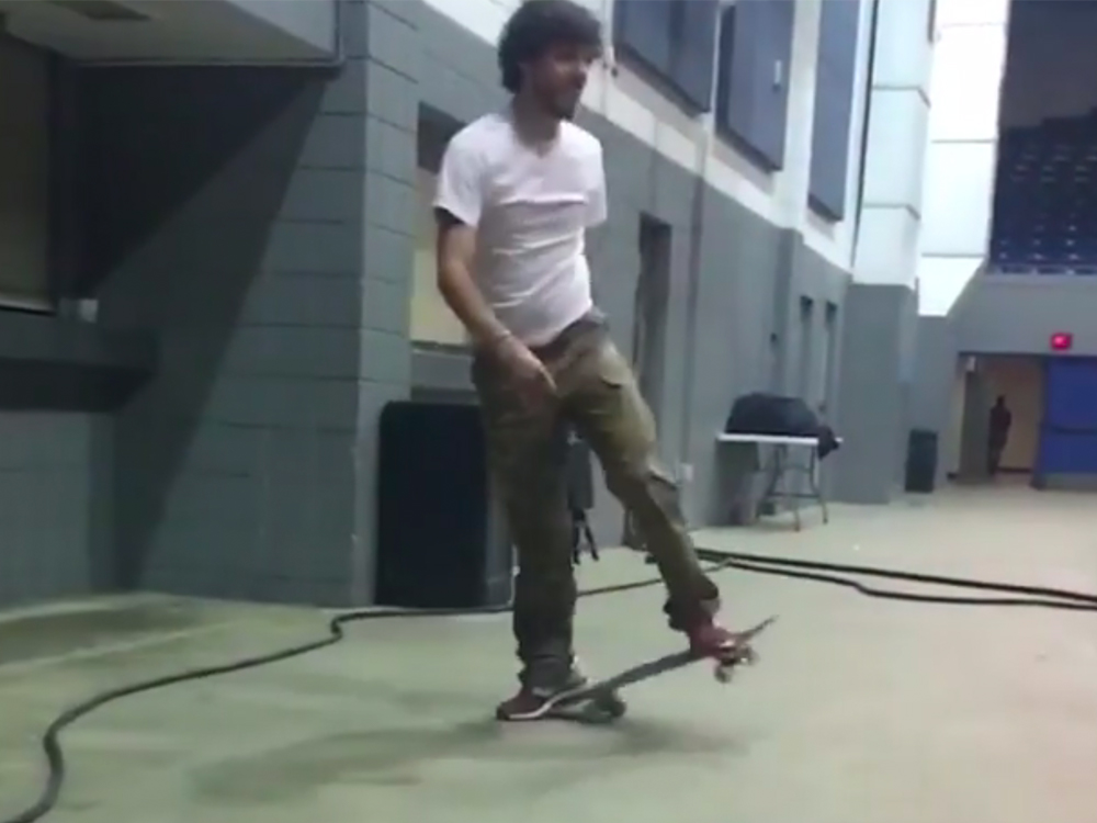 Chris Janson Has Mad Skateboarding Skills [Watch]