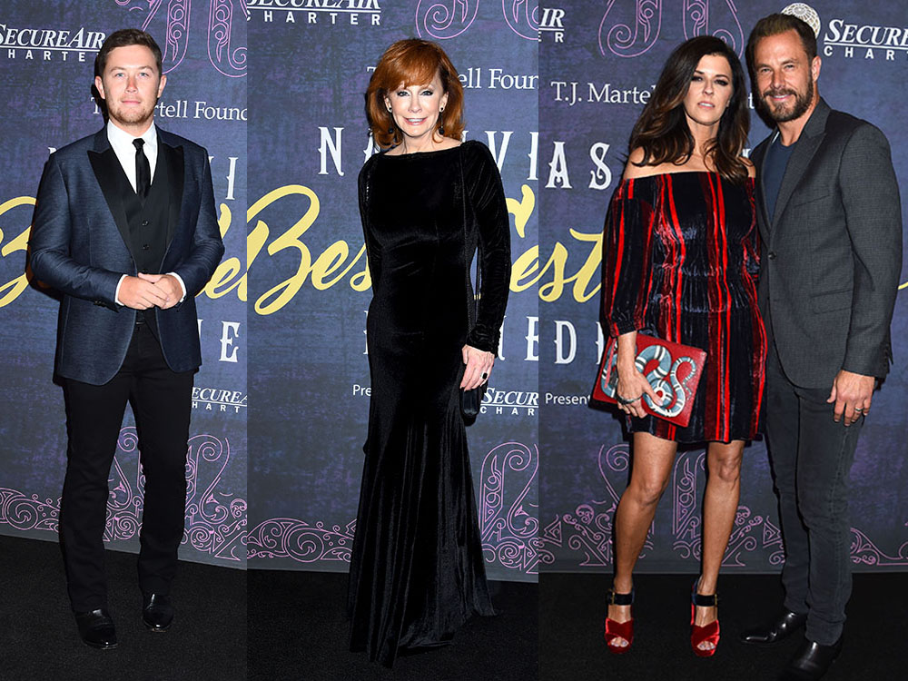 Reba McEntire, Scotty McCreery, Little Big Town and More Shine at T.J. Martell Annual Best Cellars Dinner [Photo Gallery]