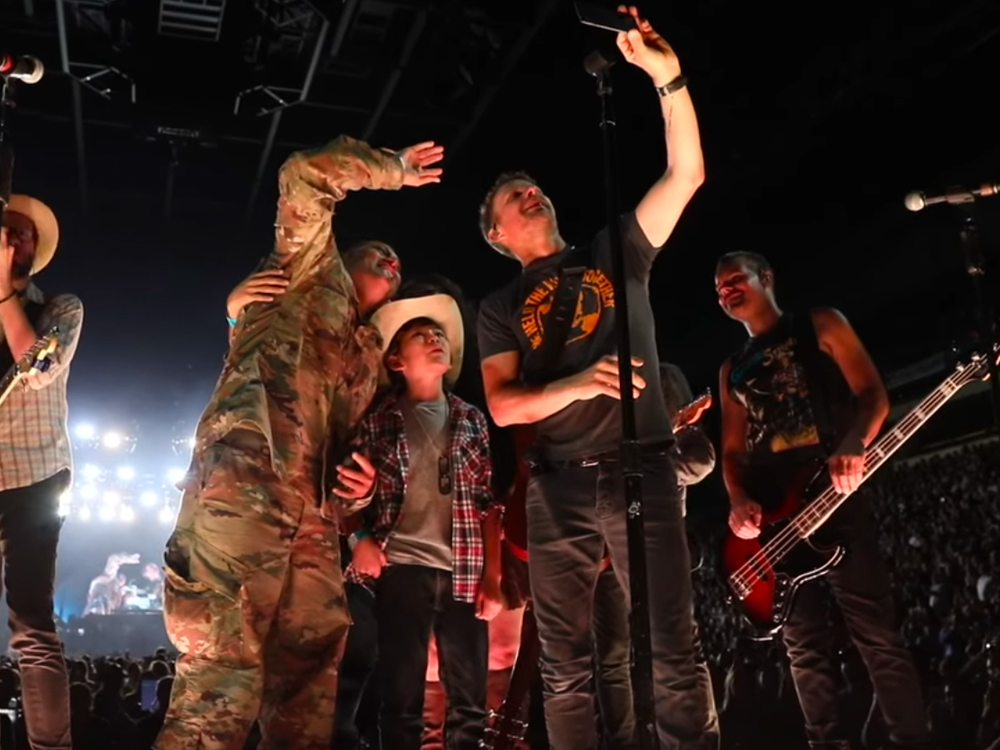Dierks Bentley Gets Emotional as He Helps U.S. Soldier With Surprise Family Reunion [Watch]