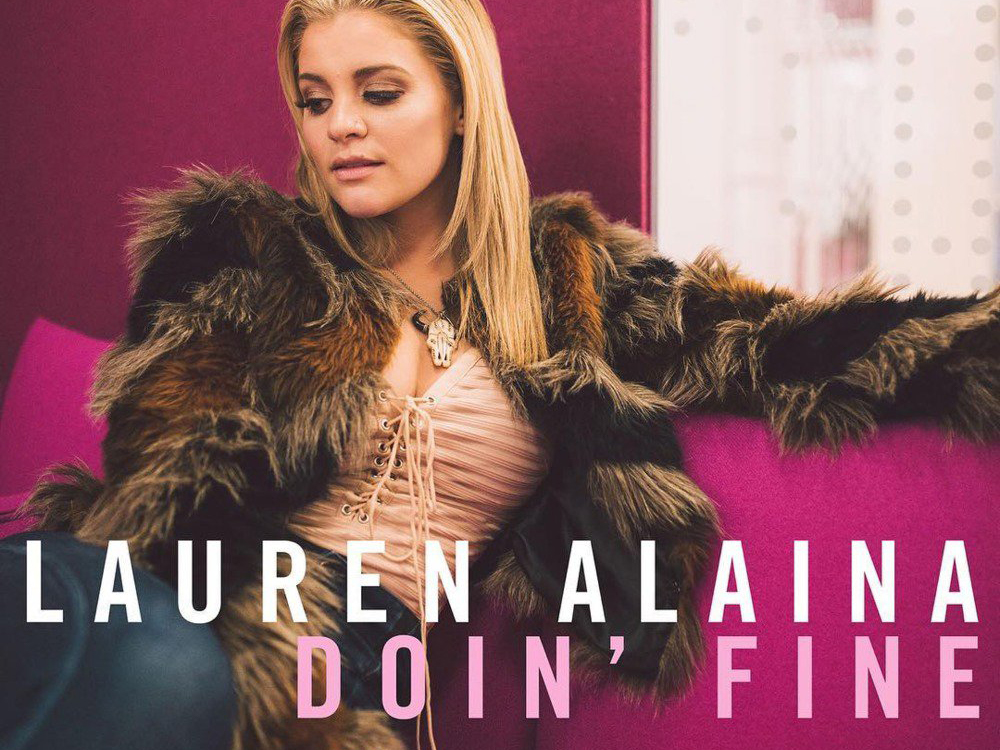 "Watch Lauren Alaina's New Lyric Video for Her Uplifting Tune, ""Doin' Fine"""