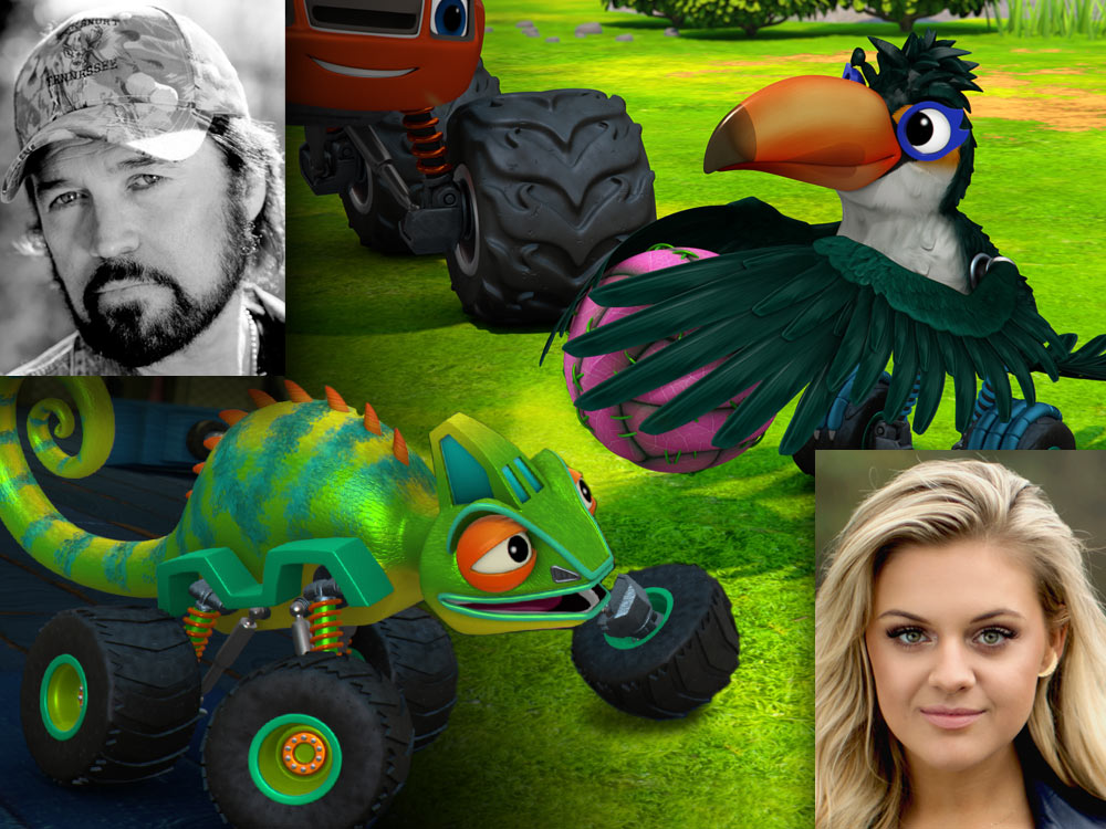 """Kelsea Ballerini and Billy Ray Cyrus Will Guest Star on Nickelodeon's """"Blaze and the Monster Machines"""" [Watch Clips]"""