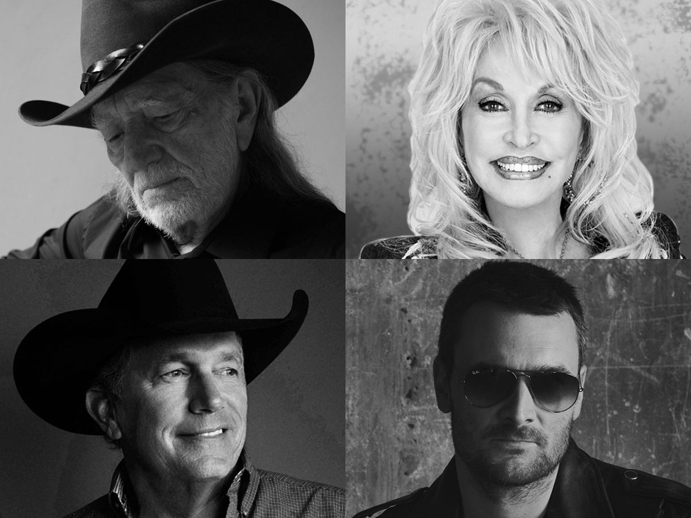 ACM Announces Special Award Honorees, Including Willie Nelson, Dolly Parton, George Strait, Eric Church, Reba McEntire & More