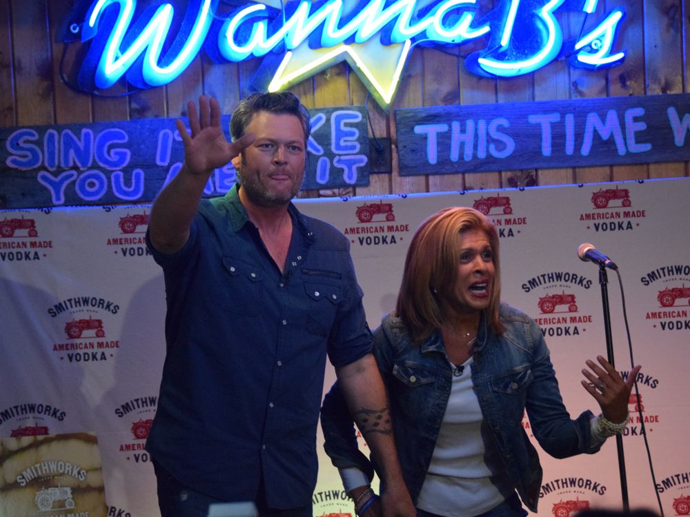 "Watch Hoda Kotb Cover ""Boys 'Round Here"" at Blake Shelton's Karaoke Party"