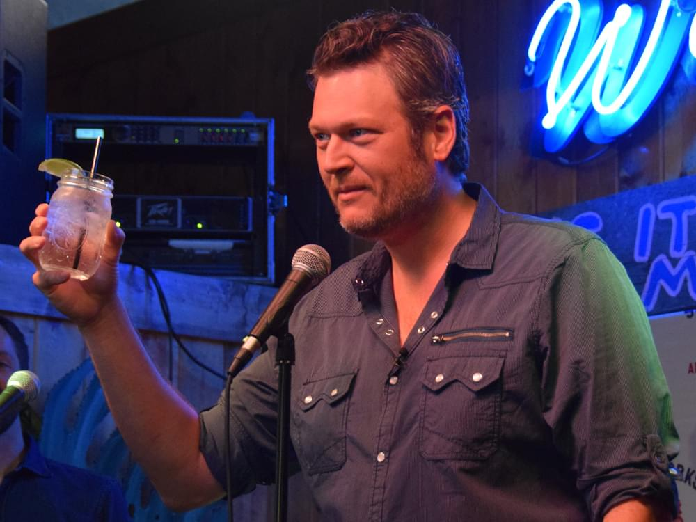 Blake Shelton Donates $50,000 to the City of Tishomingo, Oklahoma