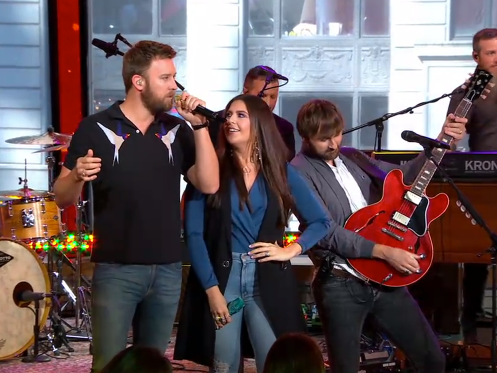 "Watch Lady Antebellum Perform ""You Look Good"" on ""Good Morning America"""