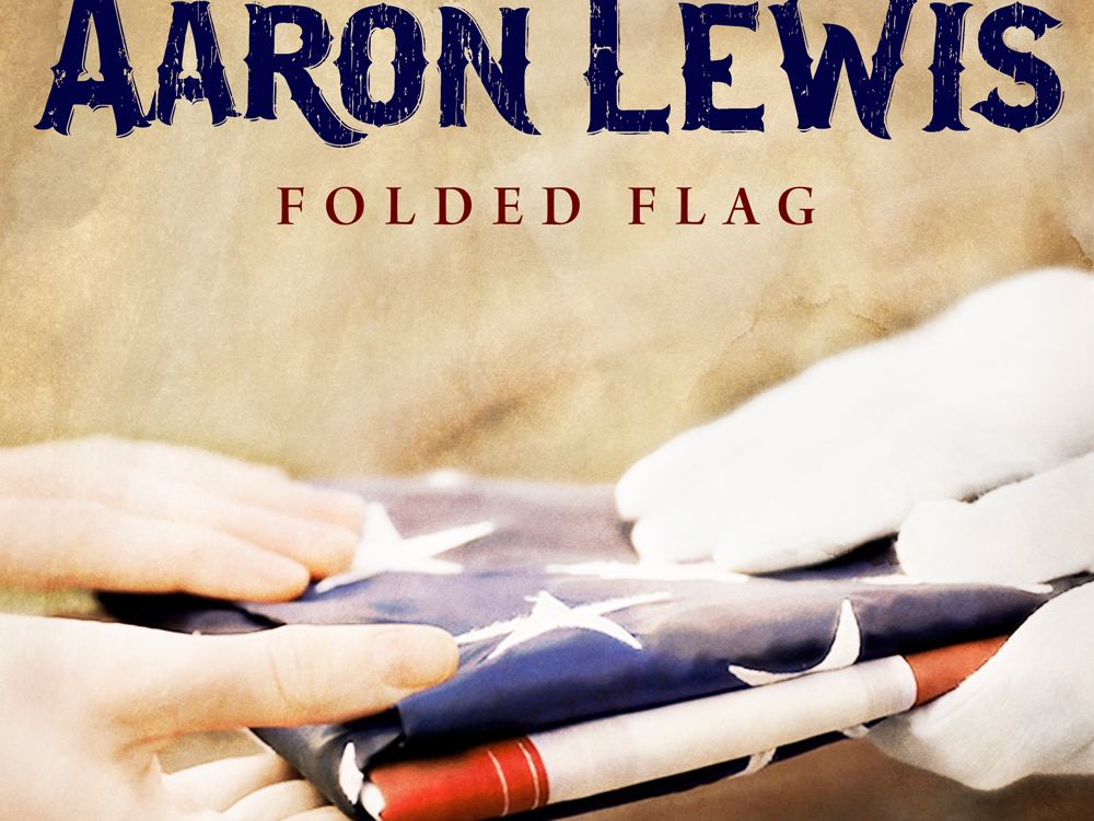 "In Honor of Flag Day, Listen to Aaron Lewis' New Song, ""Folded Flag"""