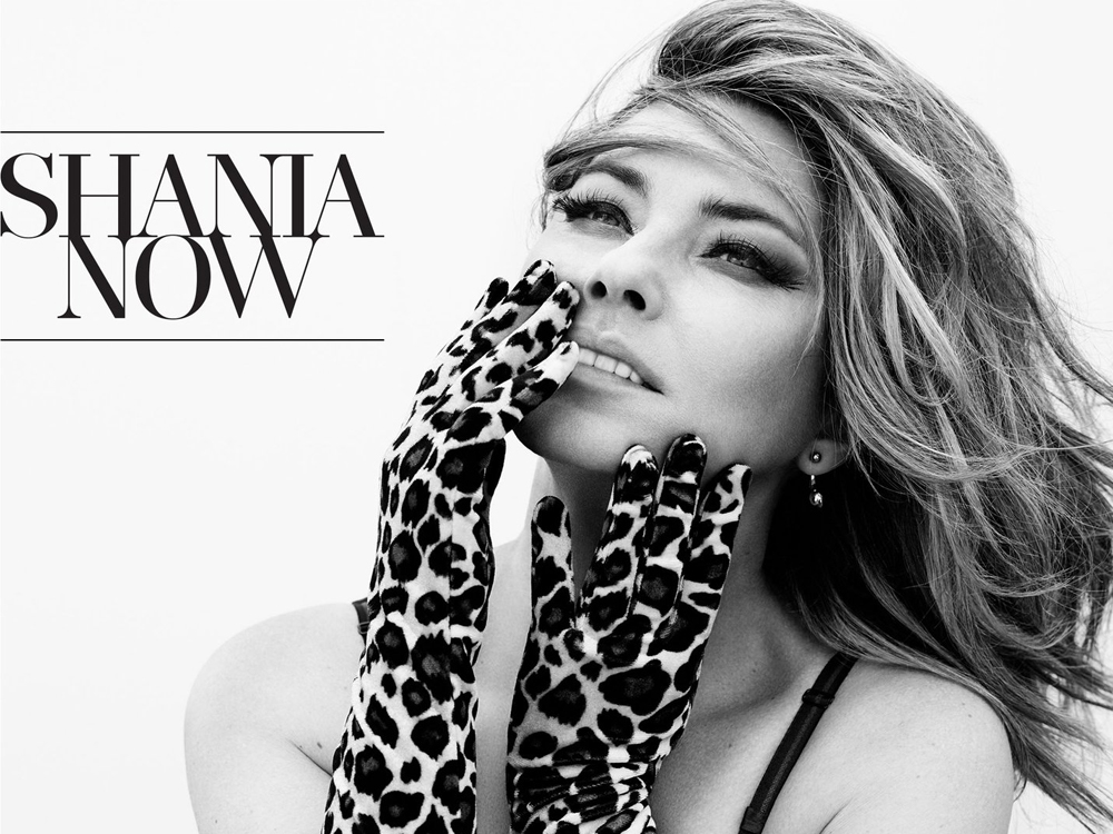 "Shania Twain Reveals Track Listing to Upcoming 16-Song Album, ""Now"""