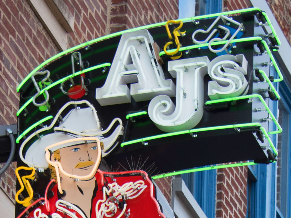 Take a Peek Inside Alan Jackson's New Downtown Nashville Venue, AJ's Good Time Bar [Photo Gallery]