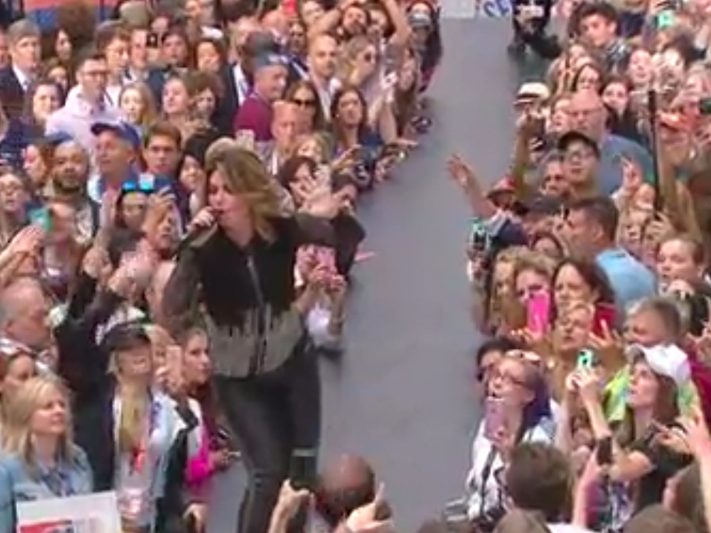 "Watch Shania Twain Sing ""That Don't Impress Me Much,"" ""Man! I Feel Like a Woman!"" New Single, ""Life's About to Get Good,"" & More on ""Today"""