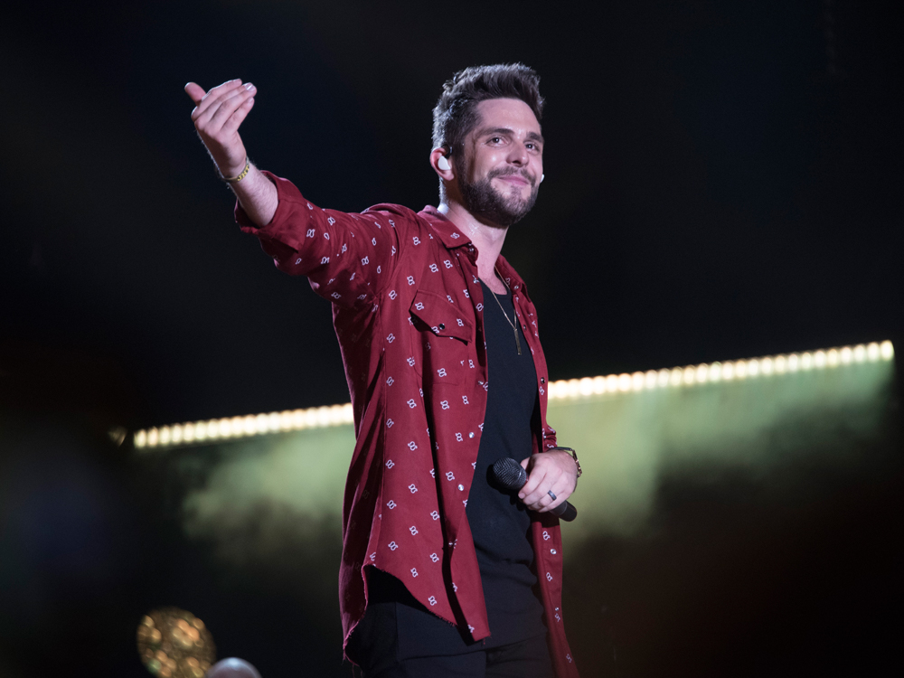 Thomas Rhett Goes Where No Country Artist Has Gone in 2017: No. 1 on the Billboard 200 Chart