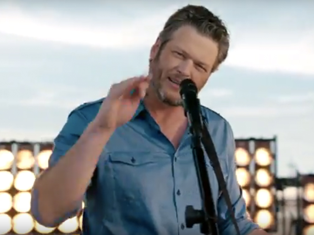 Watch Blake Shelton Rev Some Engines in New NASCAR Opening