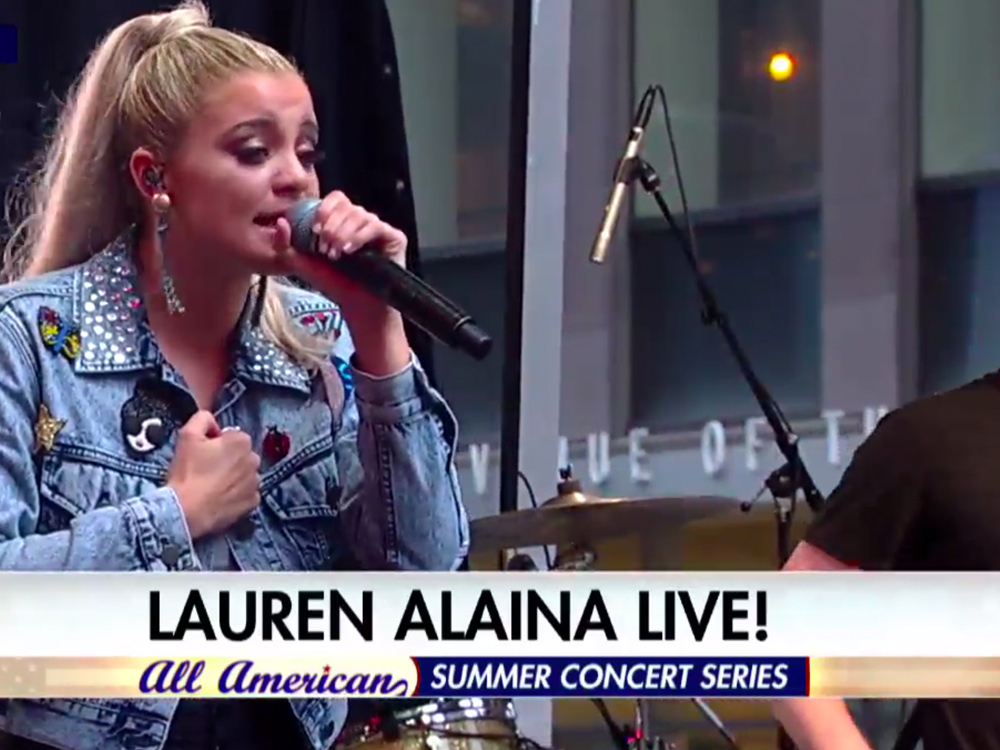 "Watch Lauren Alaina Perform ""Doin' Fine"" on ""Fox & Friends"" Summer Concert Series"