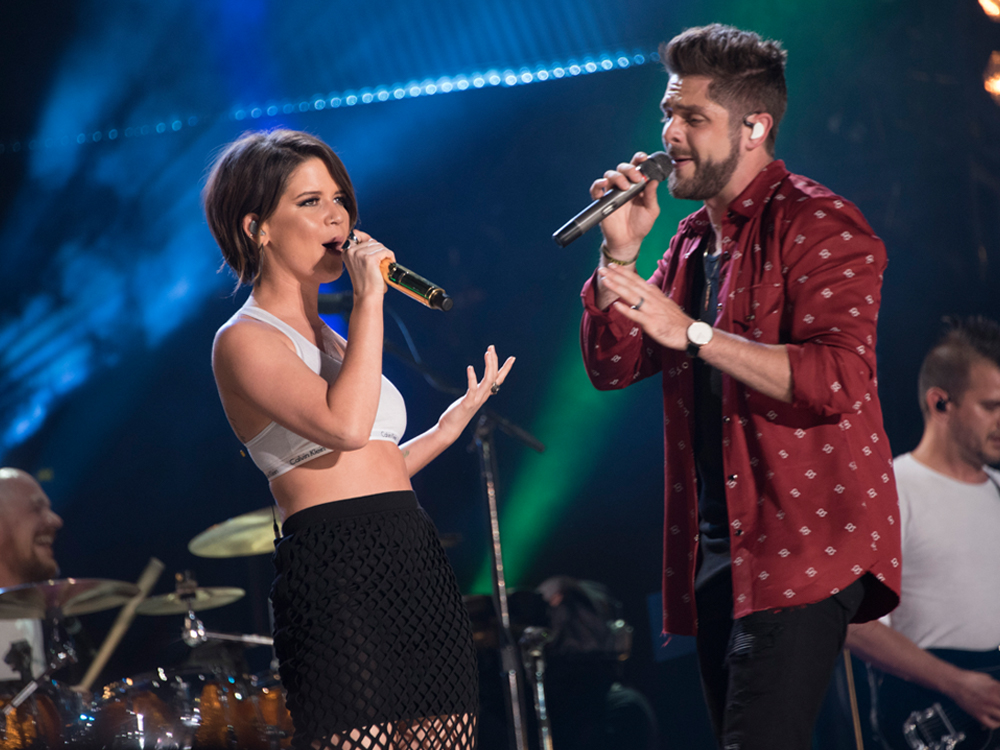 "Thomas Rhett Notches His 8th No. 1 With ""Craving You"" Featuring Maren Morris"
