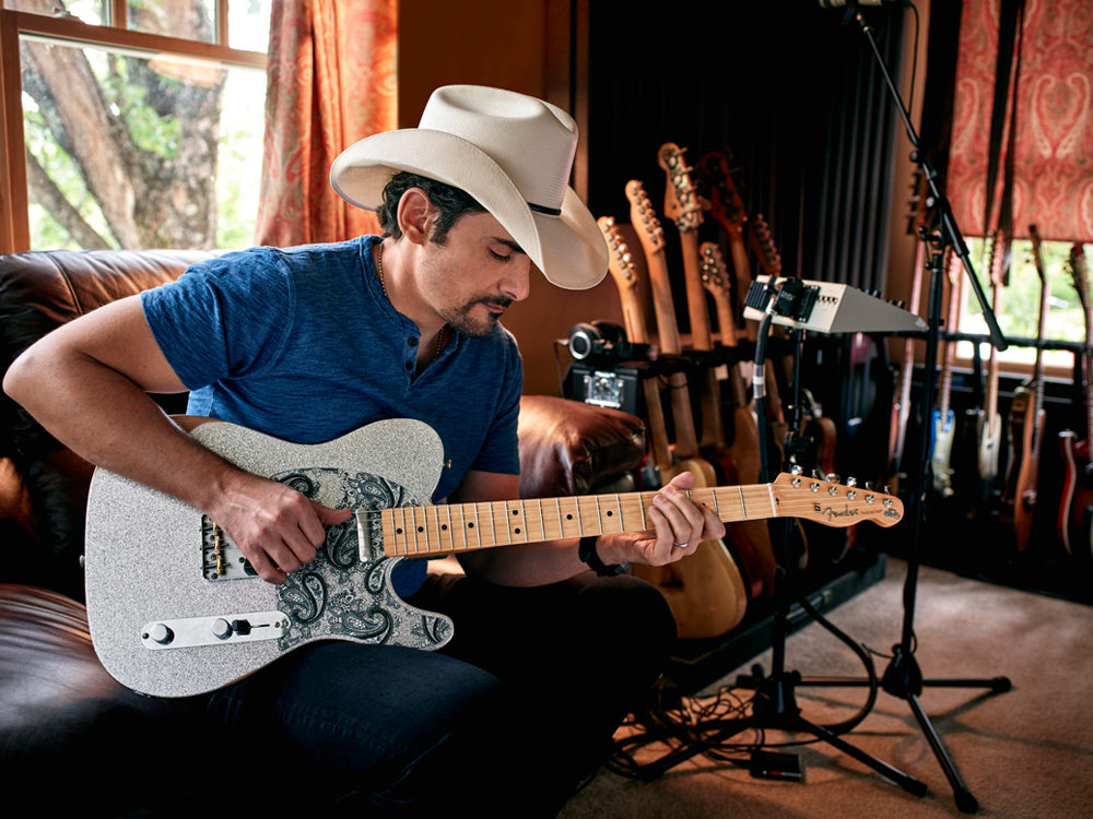 Brad Paisley's New Signature Series Telecaster Guitar Retails for $1,199